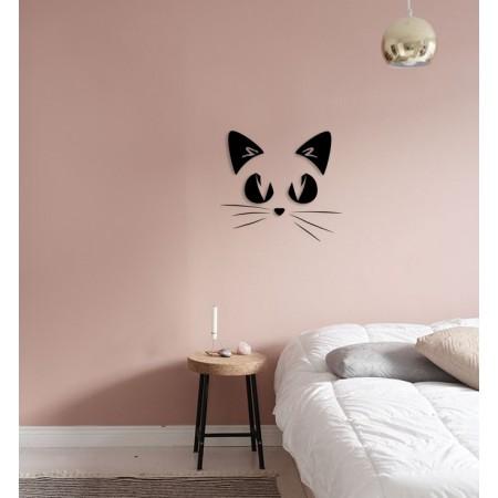 KOTEK - napis na ścianę, ozdoba 3D, dekoracja pokoju dziecięcego, wystrój wnętrz