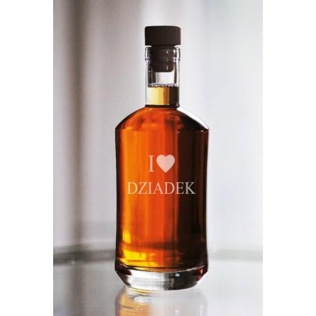 """Karafka dla dziadka """"I love dziadek"""""""