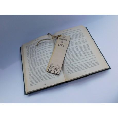 Drewniana zakładka do książki dla dziadków