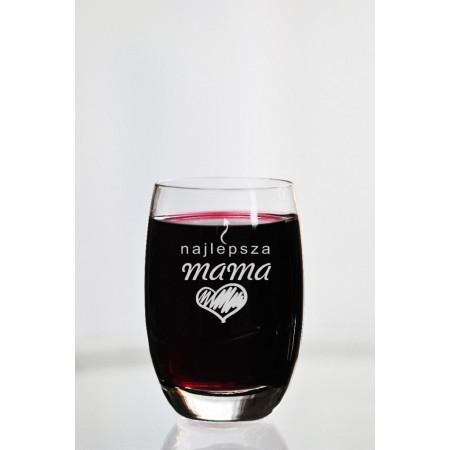 """Szklanka dla mamy """"Najlepsza mama"""""""
