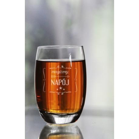 """Szklanka do whisky dla szefa/szefowej """"Magiczny napój"""""""