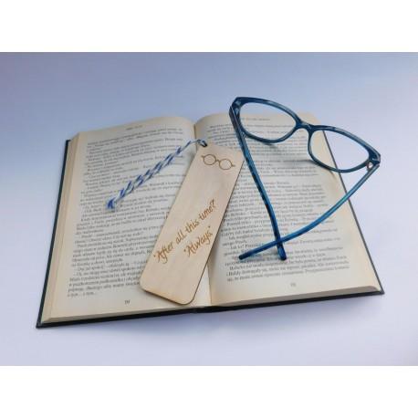 """Drewniana zakładka do książki - Harry Potter - """"After all this time? Always"""" 1"""
